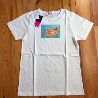 JENNI - 新品タグ付き 今季!Jenni Love ネックデザインフォトプリントTシャツ