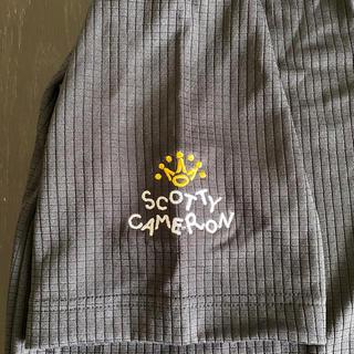 スコッティキャメロン(Scotty Cameron)のタイトリスト ポロシャツL スコッティキャメロン 黒(ポロシャツ)
