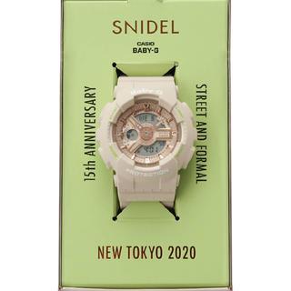 スナイデル(snidel)のSNIDEL × BABY-G 腕時計(腕時計)