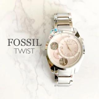 フォッシル(FOSSIL)の【美品・新品電池交換済み】FOSSIL 腕時計 レディース(腕時計)