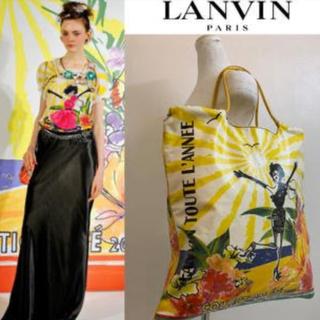 ランバン(LANVIN)の再お値下げ★LANVIN PARIS2009s アルベールエルバストートバッグ(トートバッグ)