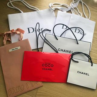 ディオール(Dior)のショップ袋まとめ売り(ショップ袋)