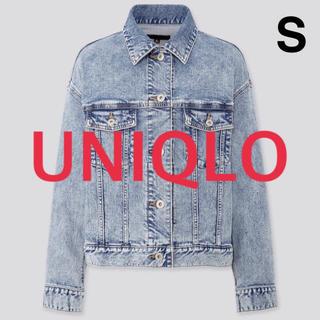 ユニクロ(UNIQLO)の【新品】UNIQLO デニム ジャケット(Gジャン/デニムジャケット)
