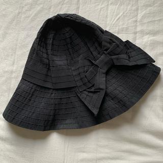 ジーユー(GU)のGU    帽子 リボン付き(ハット)