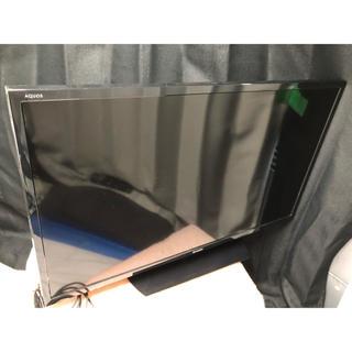 シャープ(SHARP)の美品 32インチ 2019年製 シャープ AQUOS 液晶カラーテレビ  (テレビ)