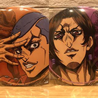 セガ(SEGA)のジョジョの奇妙な冒険 黄金の風 缶バッジ~「覚悟」とは~ ホルマジオ&イルーゾォ(バッジ/ピンバッジ)