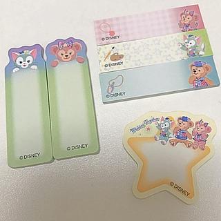 Disney - ダッフィー♡付箋6種類セット