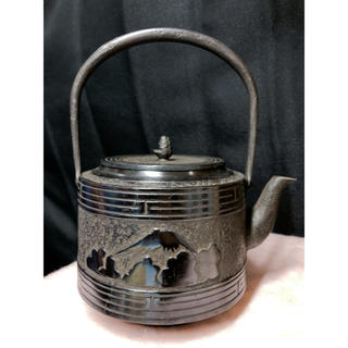 国次様専用ページ 美品 高陽堂 鉄瓶 南部鉄器(調理道具/製菓道具)