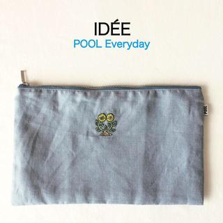 イデー(IDEE)の❂未使用❂ IDEE POOL Everyday ポーチ フラワー(ポーチ)