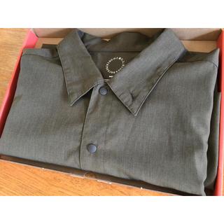 パタゴニア(patagonia)の山と道Bamboo Short Sleeve Shirt Dried Grass(シャツ)