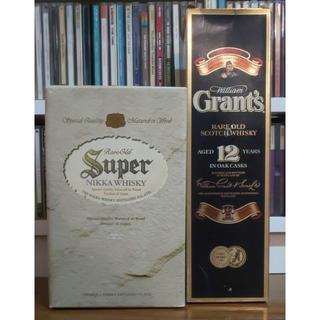 サントリー(サントリー)のサントリースーパーニッカとGrant's 12年 2本セット(ウイスキー)