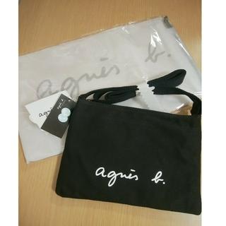 agnes b. - 新品⭐アニエスベーサコッシュボディバッグ ブラック