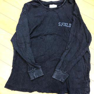アングリッド(Ungrid)のUngrid S.FIELD ロゴロンT*スミクロ(Tシャツ(長袖/七分))