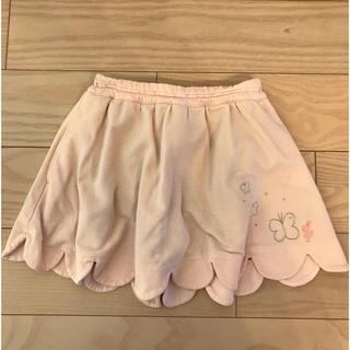ニットプランナー(KP)のニットプランナー インナーパンツ付きスカート サイズ100(スカート)