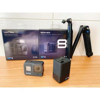 GoPro HERO8 BLACK セット(ビデオカメラ)