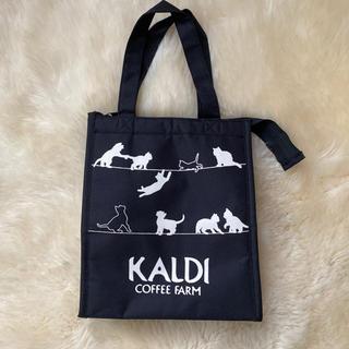 カルディ(KALDI)のKALDI  猫の保冷バッグ(エコバッグ)