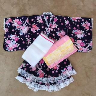 ニシマツヤ(西松屋)のセパレート浴衣 size130(甚平/浴衣)