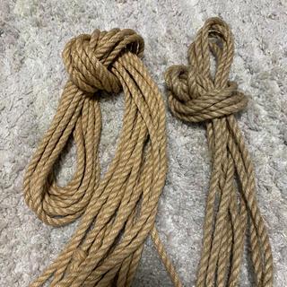 麻縄 なめし済み 6mm 10m (オマケつき)ボンテージ 縄 ロープ SM(小道具)