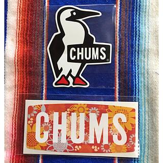 チャムス(CHUMS)の新品 CHUMS Sticker 2枚セット チャムス ステッカー b(その他)