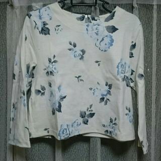 ジーユー(GU)のGU  トップス L(Tシャツ(長袖/七分))