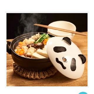 カルディ(KALDI)のカルディ 限定品 パンダナンダ 鍋(収納/キッチン雑貨)