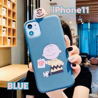 iPhone - 【iPhone11】スヌーピーiPhoneケース♡ブルー