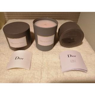 クリスチャンディオール(Christian Dior)のディオールキャンドル キャンドル(キャンドル)