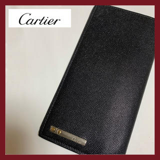 Cartier - 【美品★】カルティエ Cartier 長財布 メンズ 札入れ サントス
