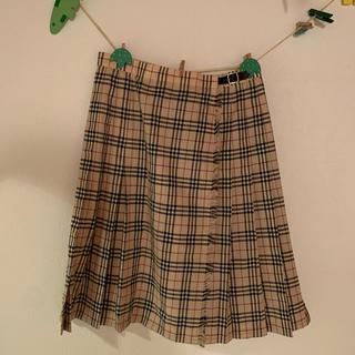 バーバリー(BURBERRY)のバーバリーロンドン スカート 13号(ひざ丈スカート)