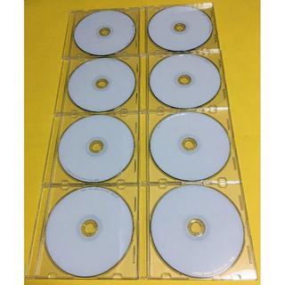 ティーディーケイ(TDK)の録画用DVD-R 8枚セット TDK CPRM対応 120min 8倍(その他)