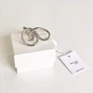 マルタンマルジェラ(Maison Martin Margiela)のmaison margiela デザインリング 新品未使用(リング(指輪))