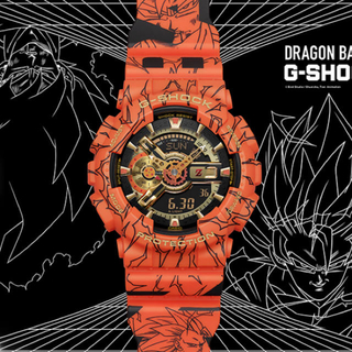 ジーショック(G-SHOCK)のドラゴンボール×G-SHOCK 型番:GA-110JDB-1A4JR(腕時計(デジタル))