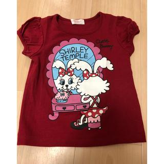 シャーリーテンプル(Shirley Temple)のバニーちゃんTシャツ 110(Tシャツ/カットソー)