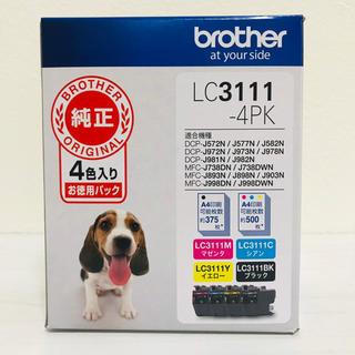 brother - 【ブラザー純正】インクカートリッジ4色パック LC3111-4PK