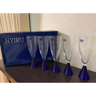 東洋佐々木ガラス - 新品 未使用 佐々木ガラス グラス 5脚セット 昭和 レトロ