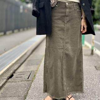 L'Appartement DEUXIEME CLASSE - L'Appartement【アッパーハイツ】Corduroy Long スカート