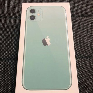 iPhone - IPHONE 11 128GB 新色グリーン SIMフリー シャッター音無