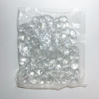 ガラスカボション ネイルカラーチャート 200個入(ネイル用品)