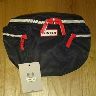 ハンター(HUNTER)の【HUNTER】ORIGINAL NYLON BUMBAG (ブラック)(ボディーバッグ)