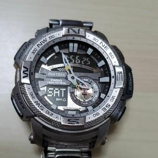 カシオ(CASIO)のCASIO PROTREK PRG-280D 腕時計。(腕時計(アナログ))