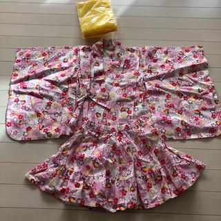 ニシマツヤ(西松屋)の浴衣ドレス 帯 110(甚平/浴衣)