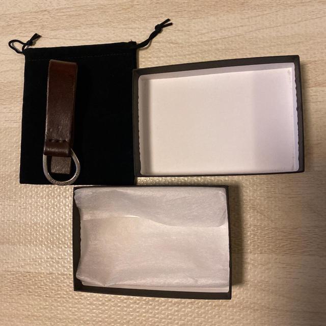 CALEE(キャリー)の希少品! GLADHAND グラッドハンド キーリング キーホルダー ブラウン メンズのファッション小物(キーホルダー)の商品写真