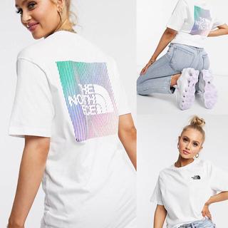ザノースフェイス(THE NORTH FACE)のThe North Face レインボーボックスグラフィックTシャツ(Tシャツ(半袖/袖なし))