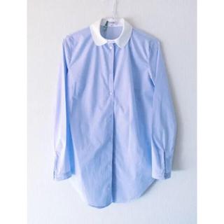 カルヴェン(CARVEN)のcarven blue shirt (シャツ/ブラウス(長袖/七分))