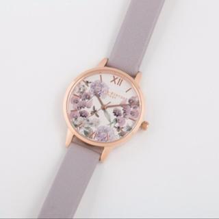 ダニエルウェリントン(Daniel Wellington)のオリビアバートン 腕時計 時計 パープル(腕時計)