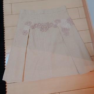 ドルチェアンドガッバーナ(DOLCE&GABBANA)のDOLCE&GABBANA レーススカート(ひざ丈スカート)