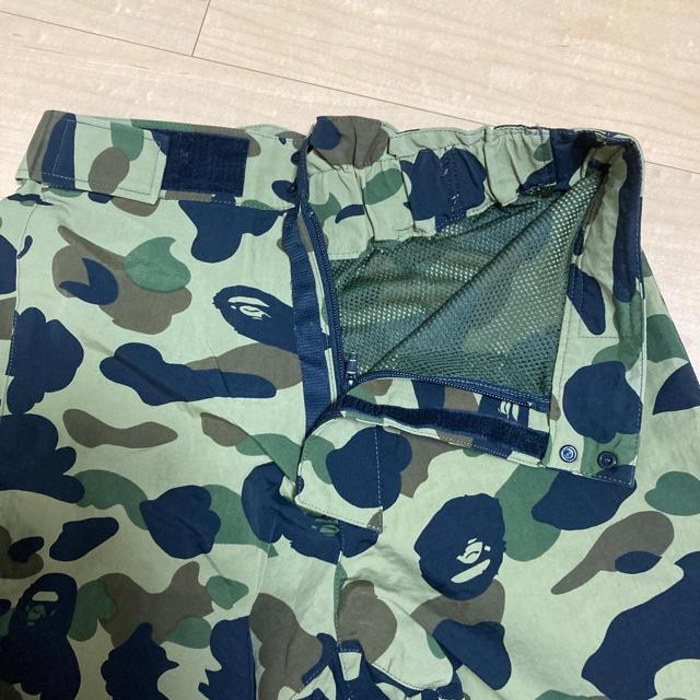 A BATHING APE(アベイシングエイプ)のアベイシングエイプ 迷彩 スノボ ナイロンパンツ メンズのパンツ(その他)の商品写真