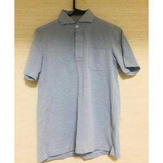 スーツカンパニー(THE SUIT COMPANY)のスーツカンパニー  青ポロシャツ(ポロシャツ)