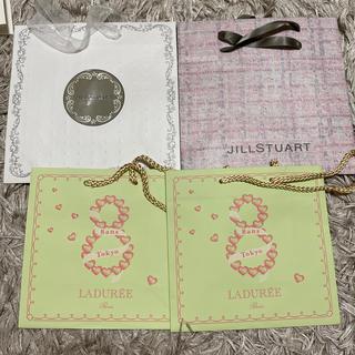 ジルスチュアート(JILLSTUART)のJILLSTUART♡ラデュレ紙袋セット(ショップ袋)
