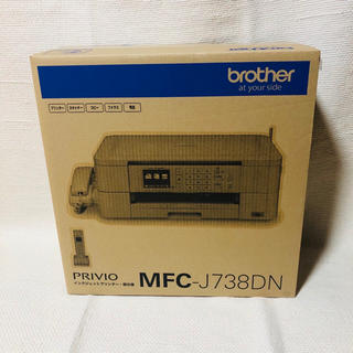 brother - 【新品未開封】ブラザー 複合機 プリンター MFC-J738DN FAX